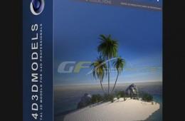 C4Depot生态岛屿植物景观可控模型预设