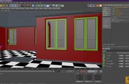 C4D室内房屋快速建模插件中英汉化版 Room Maker v1.1