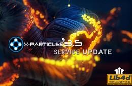 C4D高级粒子插件3.5正式汉化版 X-Particles v3.5