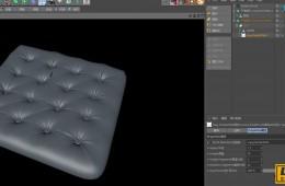 C4D沙发褶皱快速创建插件中英对照汉化版含教程