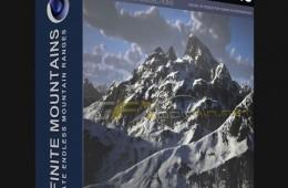 C4D雪山预设附带教程