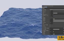 C4D插件 HOT4D海洋模拟插件汉化版 HOT4D V0.3 (含教程)